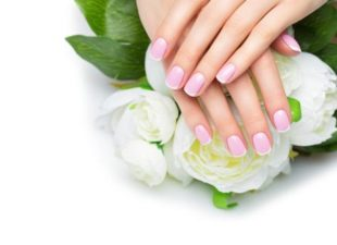 Give a gift certificate for a French manicure from Salon Nouveau